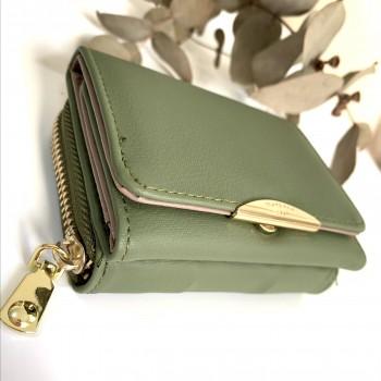 Mini billetera - classic verde